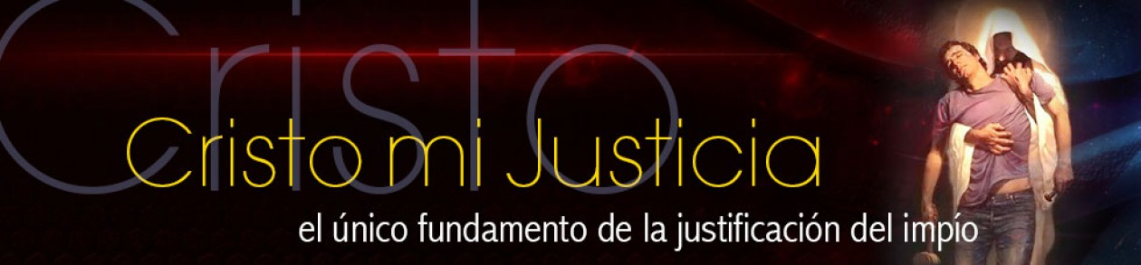 Cristo mi Justicia